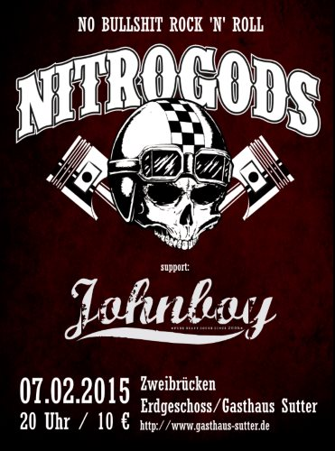 Johnboy supporten Nitrogods